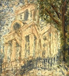 Kossoff: 'Christ Church, Spitalfields', 1999-2000