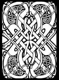 Dover - Celtic knot design