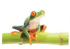 Geometric Frog by JunBenLiesor on DeviantArt
