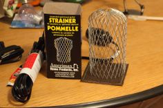 DIY Lights using Gutter Strainers