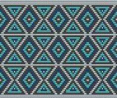 Wayuu Mochilla Bag Chart - Diy and craft Mochila Crochet, Bag Crochet, Crochet Shell Stitch, Crochet Handbags, Crochet Purses, Crochet Chart, Crochet Motif, Tapestry Crochet Patterns, Crochet Stitches Patterns