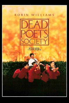 Dead Poets Society *Drama by Peter Weir -- starring Robin Williams, Robert Sean Leonard, & Ethan Hawke Robin Williams, 80s Movies, Great Movies, Amazing Movies, Zombie Movies, Cult Movies, Comedy Movies, See Movie, Movie Tv