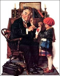 Doctor norman-rockwell