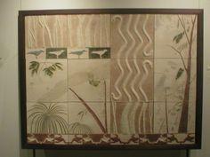 Patricia Chica. Mural en cerámica, exposición artierra 2004