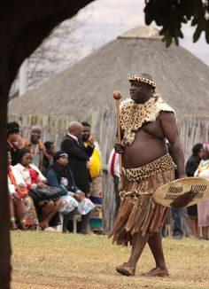 Zulu warrior, Johannesburg South Africa