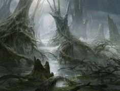 Swamp by AdamPaquette.deviantart.com on @DeviantArt