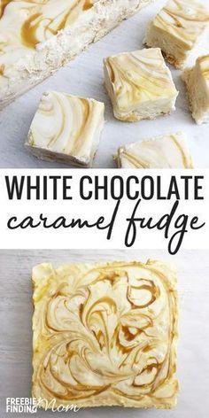 White Chocolate Caramel Fudge