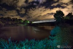 Obelisk Bridge under the stars