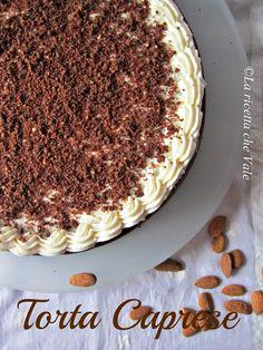 Torta Caprese | La ricetta che Vale