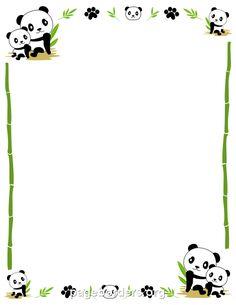 Panda Border