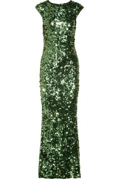 Alice + OliviaGigi sequined gown/ wish I had somewhere to sport this
