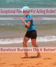 Did you know barefoot runners have reduced risk of knee & hip injury? Hip Injuries, Way Of Life, Pain Relief, Barefoot, Did You Know, Runners, Have Fun, Therapy, Wellness