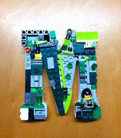 Custom mosaic letter 5 in by 4 in . M toy by MosaicTreasureBox, $25.99