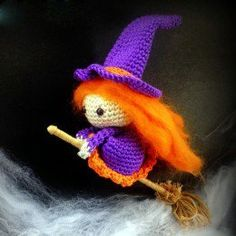 Free Halloween Witch Crochet Patterns