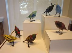 Glass birds by Shane Fero.