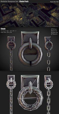 Modular Dungeon Set | Chain Pack