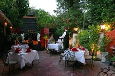 For casual outdoor dining or your wedding, Europa Restaurant is the most beautiful setting in Palm Springs.