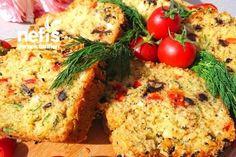 Bol Çeşnili Muhteşem Tuzlu Kek (Lezzetine Bayılacaksınız) Tarifi