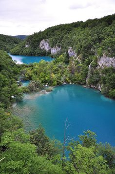 Plitvice Lakes in Croatia. One of the most amazingly beautiful places I've ever been.