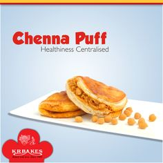 Chenna Puff - Healthiness Centralised @ KR BAKES since 1969  #KRBakes #KRBakesSince1969 #BakedWithLove #ChennaPuff