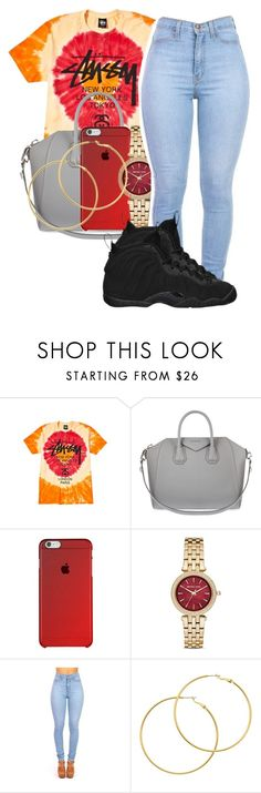 """""""Shout out to my ex"""" by str8-savage ❤ liked on Polyvore featuring Givenchy, Michael Kors, Melissa Odabash and NIKE"""