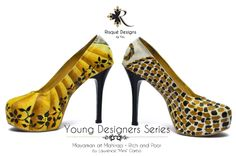 Mayaman at Mahirap / Rich and Poor by Mimi Garbo custom shoes / hand painted / pumps Young Designers, Pumps, Heels, Custom Shoes, Hand Painted, Fashion, Heel, Custom Tennis Shoes, Moda