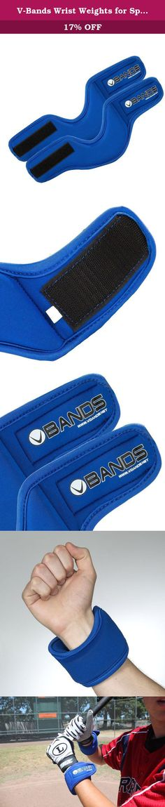 """V-Bands Wrist Weights for Sports Training (1 LB set). Global Sports Innovation (GSI) is excited to present Velocity Bands. V- Bands are the """"NEW EDGE"""" for functional Sports training. While first invented for basketball training, the inventor questioned whether the improvements he was getting with his basketball clients (hand & foot speeds), would transfer to other sports. He was elated to find out that every sport he piloted was showing results in as little as 3 weeks. Even though it…"""