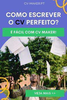 Cv Maker, Cv Curriculum, Perfect Cv, Online Cv, Le Cv, Finding A New Job, Professional Cv, Teachers Corner, Learning