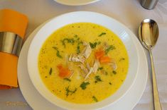 Thai Red Curry, Soups, Roman, Food And Drink, Pizza, Ethnic Recipes, Chowders, Soup