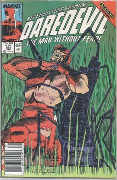 1988 Marvel Comics DAREDEVIL #262 TYPHOID MARY / BLACK WIDOW in Hell's Kitchen