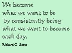 Richard G. Scott quote