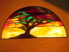 Tree Of Life - Delphi Stained Glass