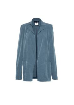 This is made of Rayon, easy breezy and comfortable fabric. It is a perfectly tailored drop down oversized Jacket. This is boyfriend's fit, give a feeling of that you are wearing your boy friend's Jacket but that looks actually good and fit you. This fabric is drapery, it can be covered and styled differently. This is lighter than a feather.