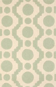 Dash & Albert 'Circle Fret' Tufted Wool Rug available at #Nordstrom