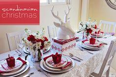 Scandinavian Inspired Christmas Table