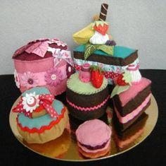 expertes-custo-couture - Pas à pas Petit gâteau rond par Poopie Louly