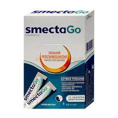 Smecta Go to gotowa do wypicia zawiesina, przeznaczona do stosowania w leczeniu ostrej biegunki u dorosłych i dzieci.