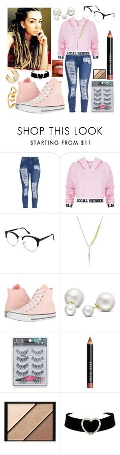 """""""😎😜😍😄"""" by blue488 on Polyvore featuring Local Heroes, Sirius, Converse, Allurez, Bobbi Brown Cosmetics, Elizabeth Arden, Belk Silverworks and By Emily"""