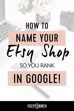 How to Find Etsy Tags that Sell Like Hotcakes - Fuzzy & Birch Cute Business Names, Craft Business, Business Tips, Online Business, Business Baby, Store Names Ideas, Shop Name Ideas, What Sells On Etsy, Sell On Etsy