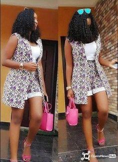 Look at this Classy Africa fashion 1086598384 Short African Dresses, African Fashion Designers, Latest African Fashion Dresses, African Print Fashion, Africa Fashion, Moda Afro, African Attire, African Outfits, Ideias Fashion