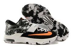 http://www.jordan2u.com/nike-zoom-kd-7-white-orange-black.html NIKE ZOOM KD 7 WHITE ORANGE BLACK Only $66.00 , Free Shipping!