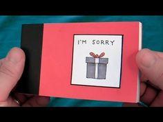 I'm Sorry: an apology flipbook - YouTube