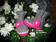 Baby Stiefel von Die Sandfrau auf DaWanda.com