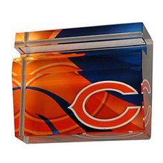 Chicago Bears Crystal Business Card Holder $24.99