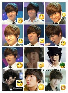 More Lee Min Ho faces...can't ever have too many ;)