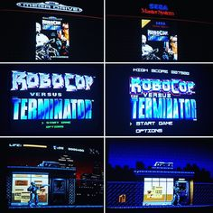 Something we loved from Instagram! #robocop vs #terminator #megadrive vs #mastersystem #16bit vs #8bit Que juegazo! #retrogamer #retropie #raspberrypi #retrogaming #retrocollective by raul_68k Check us out http://bit.ly/1KyLetq