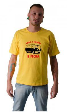 Camiseta Abre a kombi e fecha por apenas R$33.65