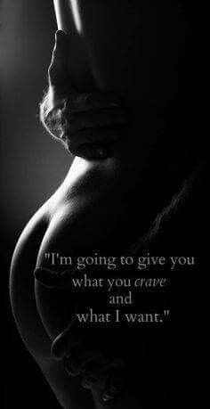 I crave your domination and a paddle on my ass till it is red