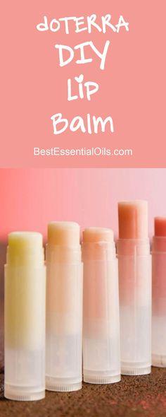 doTERRA Essential Oils DIY Lip Balm More
