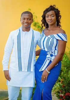 Ghanaian Engagement with Kente African Dresses For Kids, African Print Dresses, African Print Fashion, African Wear, African Fashion Dresses, Ghana Fashion, Africa Fashion, Lace Gown Styles, Kente Dress